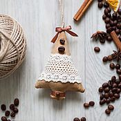 """Подарки к праздникам ручной работы. Ярмарка Мастеров - ручная работа Елочные игрушки """"Ароматные елочки"""". Handmade."""