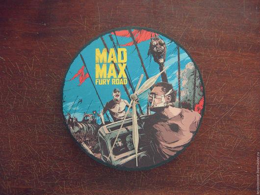 Часы для дома ручной работы. Ярмарка Мастеров - ручная работа. Купить Часы Безумный Макс/ Mad Max Clock. Handmade.