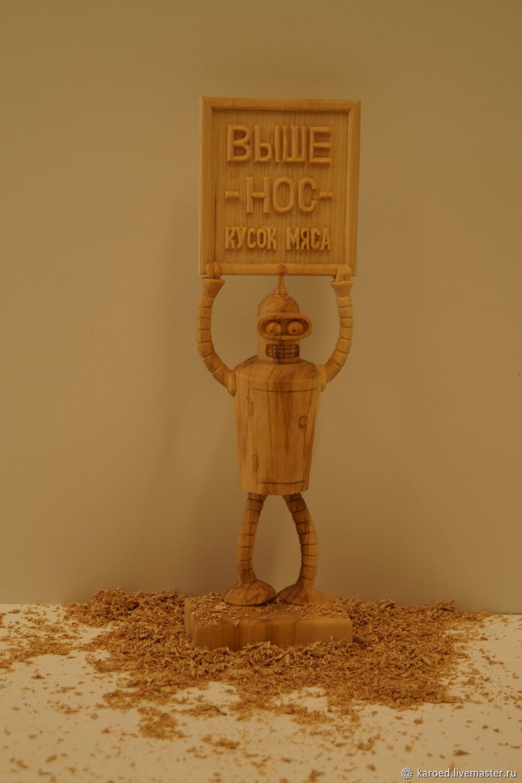 Bender (futurama), Figurine, Moscow,  Фото №1