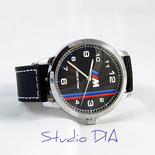 Оригинальные Дизайнерские Наручные Часы BMW M Power. Студия Дизайнерских Часов DIA.