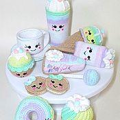 Куклы и игрушки handmade. Livemaster - original item Snacks. Handmade.