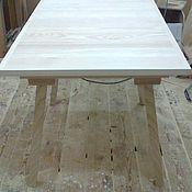 Для дома и интерьера ручной работы. Ярмарка Мастеров - ручная работа Стол раскладной , обеденный из массива ясеня. Handmade.