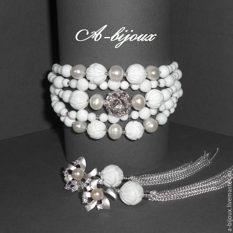 Set - White, Jewelry Sets, Moscow,  Фото №1