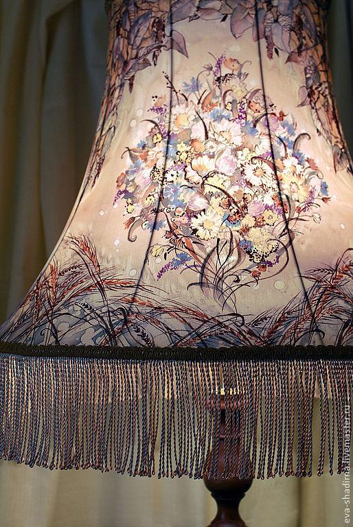 светильник светильник напольный лампа напольная авторская лампа авторский светильник абажур