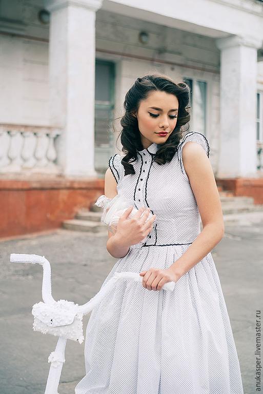 """Платья ручной работы. Ярмарка Мастеров - ручная работа. Купить Платье """"Зефирная весна"""". Handmade. Белый"""