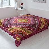 Для дома и интерьера handmade. Livemaster - original item Patchwork blanket Red double ,patchwork. Handmade.