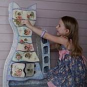 Для дома и интерьера ручной работы. Ярмарка Мастеров - ручная работа Цветочный кот-комод. Handmade.