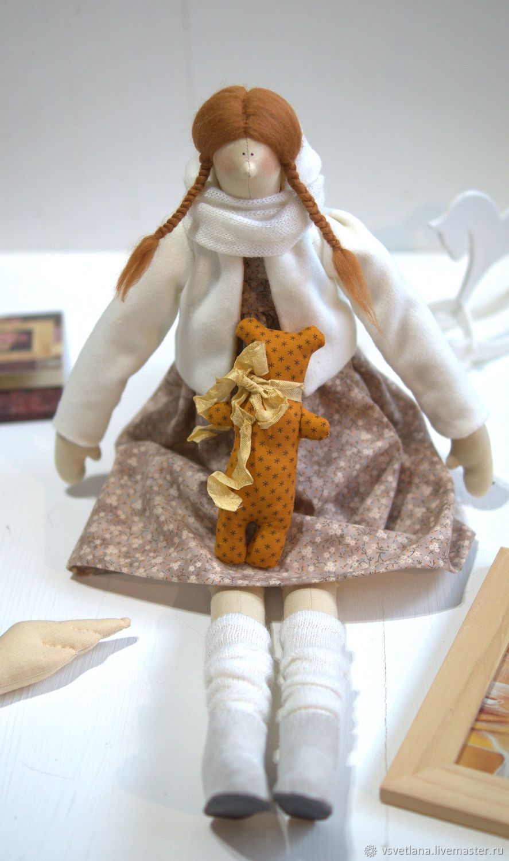 Рыжик. Повтор, Куклы Тильда, Муром,  Фото №1