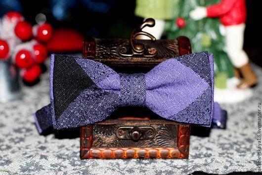 Галстуки, бабочки ручной работы. Ярмарка Мастеров - ручная работа. Купить Галстук-бабочка.. Handmade. Черный, бабочка-галстук