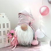 Мягкие игрушки ручной работы. Ярмарка Мастеров - ручная работа Волшебный Гном игрушка, подарок  домовой оберег. Handmade.