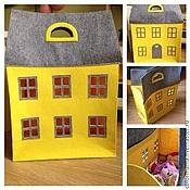 Для дома и интерьера ручной работы. Ярмарка Мастеров - ручная работа Домик для игрушек. Handmade.