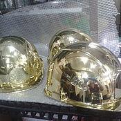 Аксессуары handmade. Livemaster - original item Helmet construction gold. Handmade.