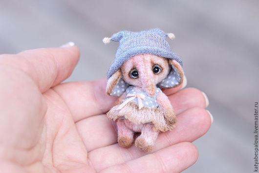 Мишки Тедди ручной работы. Ярмарка Мастеров - ручная работа. Купить Слоник Крошка. Handmade. Комбинированный, тедди, вискоза, хлопок