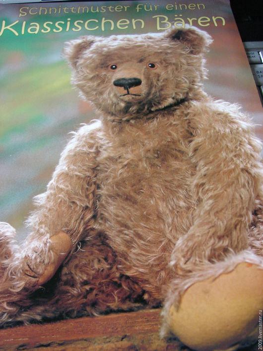 Куклы и игрушки ручной работы. Ярмарка Мастеров - ручная работа. Купить Выкройка классического немецкого мишки   Bing1928-29  годов. Handmade.