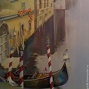 """Картины и панно ручной работы. Ярмарка Мастеров - ручная работа Роспись стен  """"Венеция""""  Роспись стены на заказ. Handmade."""