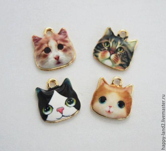 Для украшений ручной работы. Ярмарка Мастеров - ручная работа. Купить Подвеска котей 4 вида Южная Корея. Handmade.