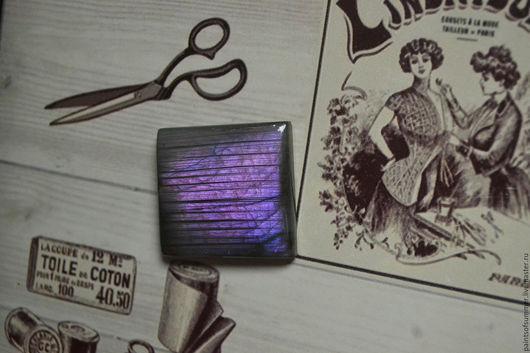 Для украшений ручной работы. Ярмарка Мастеров - ручная работа. Купить Лабрадорит спектролит. Кабошон 35 Х 32 Х 6. Handmade.