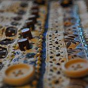 Украшения ручной работы. Ярмарка Мастеров - ручная работа Браслет Винтажный (Джинс) в стиле Бохо, текстильный. Handmade.