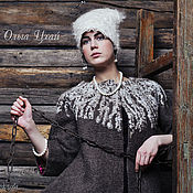 Одежда handmade. Livemaster - original item Handmade Felted coat Heather. Handmade.