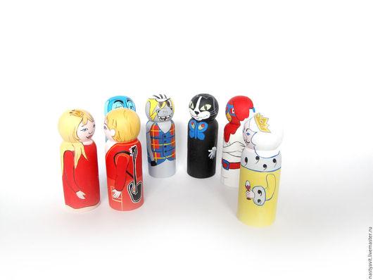 Коллекционные куклы ручной работы. Ярмарка Мастеров - ручная работа. Купить куколки Бременские музыканты. Handmade. Комбинированный, персонажи мультфильмов