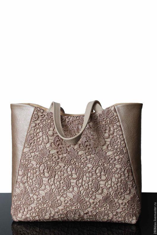 """Женские сумки ручной работы. Ярмарка Мастеров - ручная работа. Купить """"Timeless"""" Кожаная сумка, светлая сумка, ванильный, золотая сумка. Handmade."""