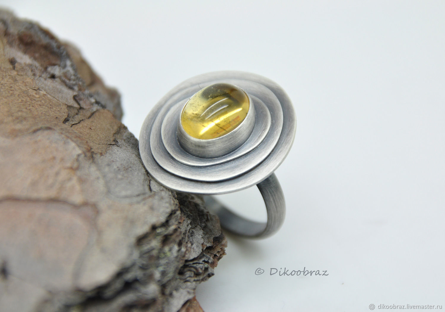 Solaris ring (925 silver, citrine), Rings, Moscow,  Фото №1