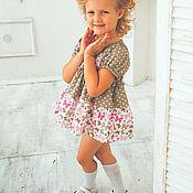 Одежда ручной работы. Ярмарка Мастеров - ручная работа Платье для девочки. Handmade.