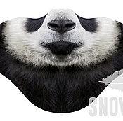 Одежда ручной работы. Ярмарка Мастеров - ручная работа Ветрозащитная маска Панда. Handmade.