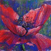 Картины и панно handmade. Livemaster - original item Painting Poppies. Flowers. Handmade.