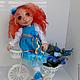 Коллекционные куклы ручной работы. Ангелина. Текстильная игровая кукла.. Анна Талалайко. Интернет-магазин Ярмарка Мастеров. Авторская кукла