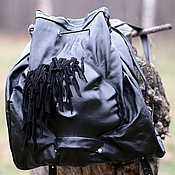 Сумки и аксессуары handmade. Livemaster - original item Backpack genuine leather