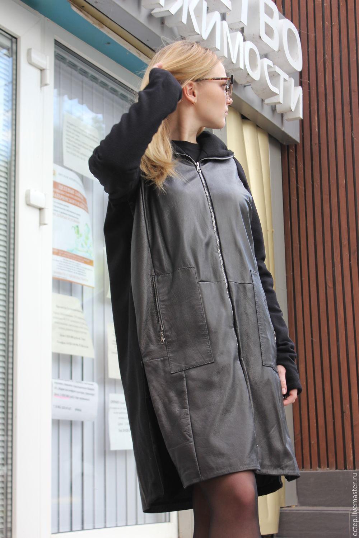 af12ea62c86 Кожаное пальто