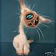 Игрушки животные, ручной работы. Заказать Сиамский кот. Ирина Логутова. Ярмарка Мастеров. Сиамский кот, оригинальный подарок