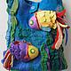 Handbags handmade. Livemaster - handmade. Buy Bag 'Fish'.3d, bag handmade, bag shopping
