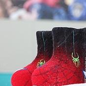 """Обувь ручной работы. Ярмарка Мастеров - ручная работа Валенки детские """"Челпаук"""". Handmade."""