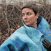 Одежда handmade. Livemaster - original item Felted Coat, Women Coat, Wearable Art, Nunofelted Coat, Designer Coat,. Handmade.