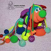 Куклы и игрушки ручной работы. Ярмарка Мастеров - ручная работа Развивающая игрушка Шарик-Лошарик. Handmade.