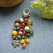 """Брелок ручной работы. Ярмарка Мастеров - ручная работа Брелок для ключей, украшение на сумку """"Осень"""". Handmade."""