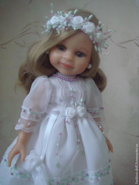 a41a762f5a90 Купить Платье + обувь Игрушки животные, ручной работы. Платье + обувь на  куклу 32см. Paola Reina.