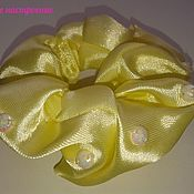 Заколки ручной работы. Ярмарка Мастеров - ручная работа Заколки:  Резинки для волос со стразами. Handmade.