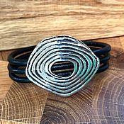 Украшения handmade. Livemaster - original item Wide womens boho bracelet, jewelry for women Bohemian. Handmade.