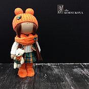 Куклы и игрушки ручной работы. Ярмарка Мастеров - ручная работа Танечка. Интерьерная текстильная кукла.. Handmade.