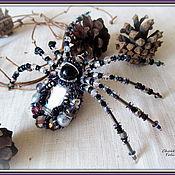 """Украшения ручной работы. Ярмарка Мастеров - ручная работа """"Spider-3"""" Брошь.. Handmade."""