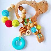 """Куклы и игрушки ручной работы. Ярмарка Мастеров - ручная работа Грызунок """"Бегемотик"""". Handmade."""