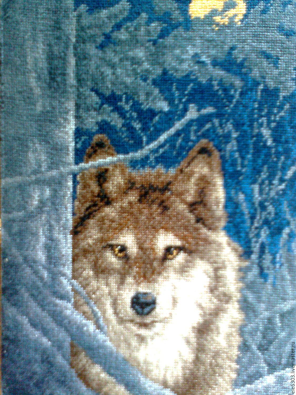Вышивка волки к чему 95
