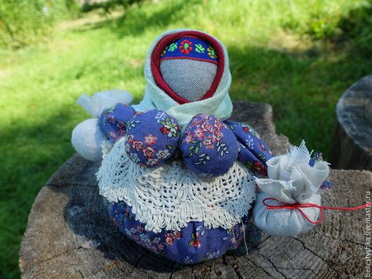 Народные куклы ручной работы. Ярмарка Мастеров - ручная работа. Купить Кубышка - травница. Handmade. Сухие травы, травяной сбор