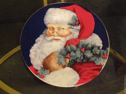 Винтажные предметы интерьера. Ярмарка Мастеров - ручная работа. Купить Санта Клаус Федор Федоров Работа под прикрытием. Handmade.