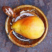 Для дома и интерьера handmade. Livemaster - original item Sauceboat, Saucer with handle. Handmade.