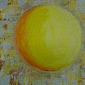 Картины и панно ручной работы. Ярмарка Мастеров - ручная работа Картина Солнце. Handmade.