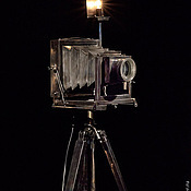 """Для дома и интерьера ручной работы. Ярмарка Мастеров - ручная работа Интерьерный светильник - """"Фотоаппарат"""". Handmade."""